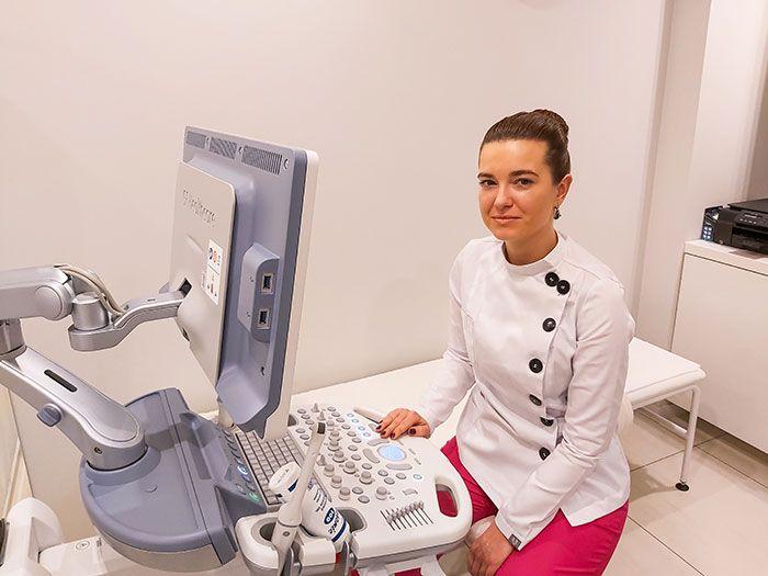 Badanie USG (ultrasonografem) Kraków